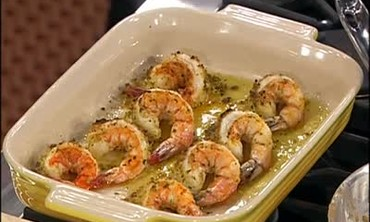 Stuffed Shrimp and Carpaccio di Tonno