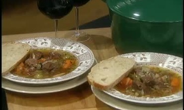 Anne Willan Bakes French Daube of Lamb