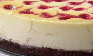 Bonus Video: Raspberry Swirl Cheesecake