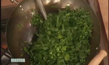 Broccoli Rabe with Sir Richard Branson