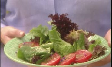 Building A Salad From Your Home Garden