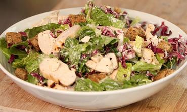 Buttermilk Chicken Caesar Salad Recipe