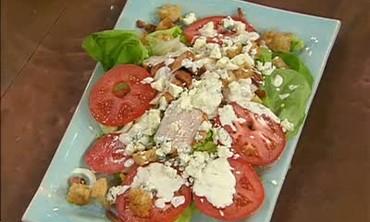 Chicken, Avocado, Tomato and Bacon Salad