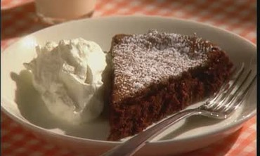 Video Emeril Live Flourless Chocolate Cake Part 2