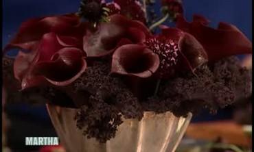 Dark Flower Arrangements for Halloween