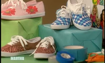 Decorated Sneakers with Rosie O'Donnell