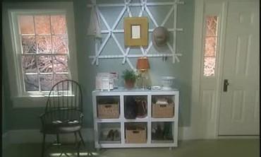 Easy Way To Organize With a Shelf Unit
