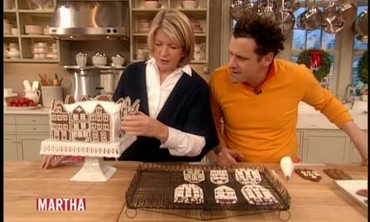 Gingerbread Houses with Martha Stewart