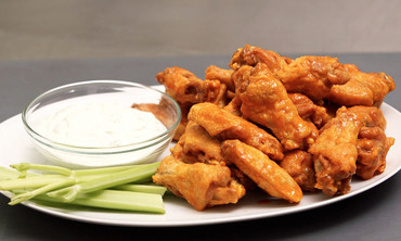 Homestyle Crispy Buffalo Chicken Wings