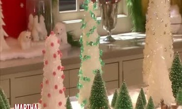 How to Make Holiday Candy Centerpieces