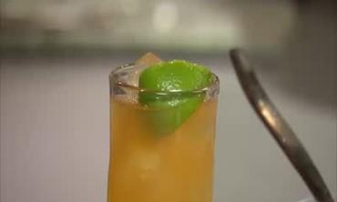 Italian Comfort Food, Cozy Rum Cocktail