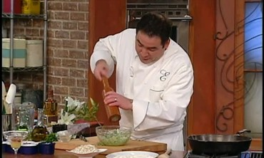 Kicked Up Guacamole with Lump Crabmeat