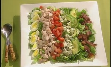 Making Cobb Salad from Leftover Turkey