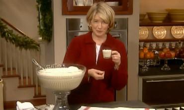 Martha Stewart's Favorite Eggnog Recipe