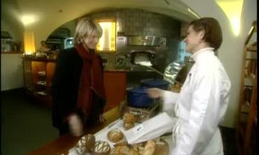 Martha Stewart's visit to Bouley Bakery