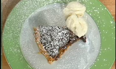 Mr. Lou's Chocolate Bourbon Pecan Pie