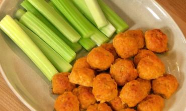 Spicy Buffalo Chicken Balls