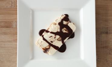 Peanut Butter and Chocolate Semifreddo