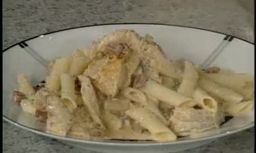 Penne Pasta with Chicken and Andouille