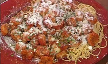 Perfect Pasta: Shrimp Parmigiana Part 3