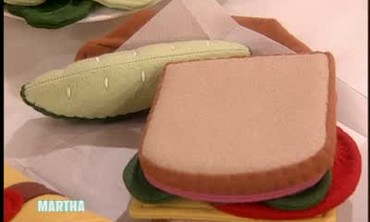 Play Food Made From Felt for Play Oven