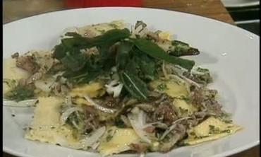 Prosciutto and Mushroom Ravioli Recipe
