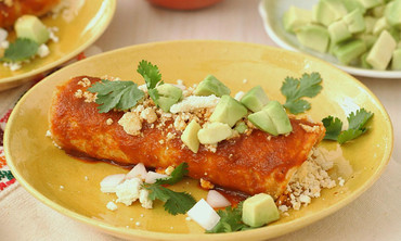 Quick and Easy Spicy Cheese Enchiladas