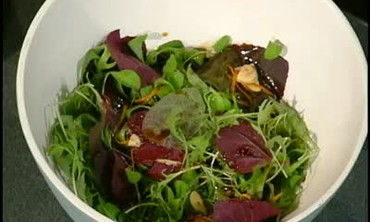 Red Orack Salad with Asian Vinaigrette