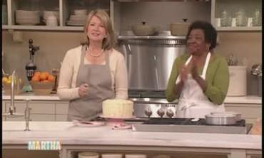 Red Velvet Cake with Martha and Martha