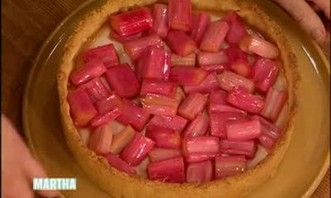 Rhubarb Tart with Rashida Jones, Part 1