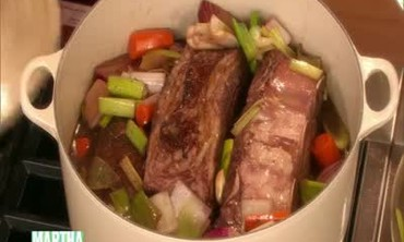 Short Ribs Simmered in Red Wine, Part 1