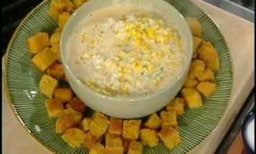 Sourdough Corn  Bread and Queso Part 6