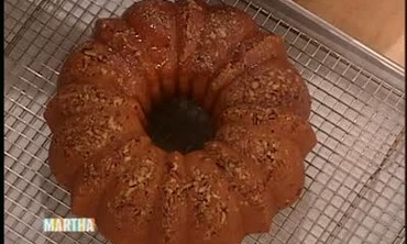 Southern Bundt Cake with Bourbon Syrup