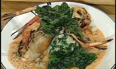 Sweet Water Prawns and Potatoes Recipe