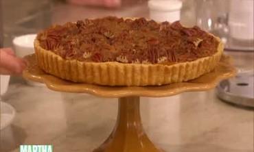 Thanksgiving Pumpkin Pecan Tart, Part 1
