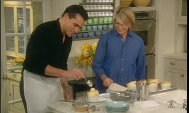 Vanilla Bean Souffle with Todd English