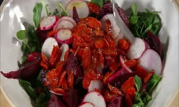 Beet, Carrot, and Watercress Salad, Part 2