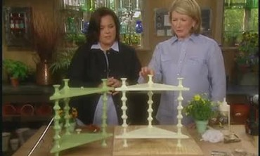 Build a Corner Shelf with Rose O'Donnell