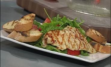 Chicken Paillard with Bruschetta Part 2