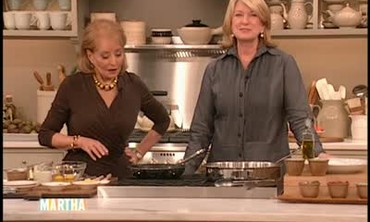 Chicken Scaloppine with Barbara Walters