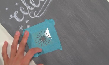 Create Chalkboard Art using Craft Paint