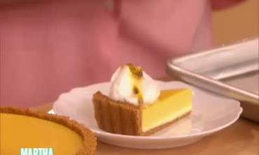 Delicious Passion Fruit Cheesecake Tart