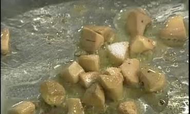 Duck Confit and Foie Gras Bread Pudding