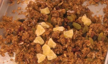Easy Breakfast Granola with Nuts Recipe