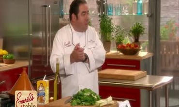 Emeril Lagasse Prepares Chicken Roulade