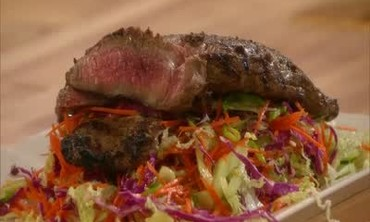 Emeril Lagasse Prepares Thai Beef Salad