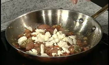 Feta Cheese, Tomato, and Potato Side Dish