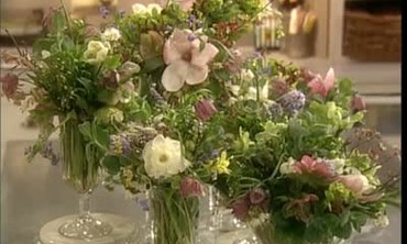 Flower Arranging with Marcel Wolternick