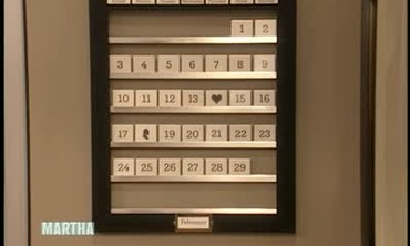 How to Make a Perpetual Calendar, Part 2
