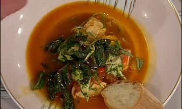 How to Make Lobster-Tomato Saffron Stew
